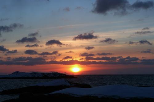 Sonnenaufgang in Å